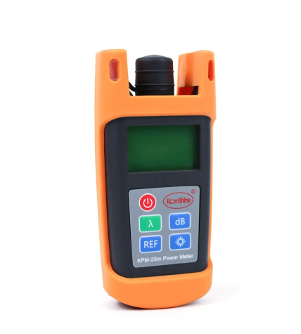 FTTH Fiber Optical Handheld Test Tool Fiber Optic Power Meter KPM-25M OPM Tester with SC ConnectorFTTH Fiber Optical Handheld Test Tool Fiber Optic Power Meter KPM-25M OPM Tester with SC Connector