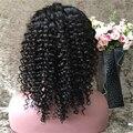 150 плотность Бразильский Парик Glueless Полный Шнурок Человеческих Волос Парики для Чернокожих Женщин Глубокая Вьющиеся Полное Кружева Передние Парики с ребенком волос