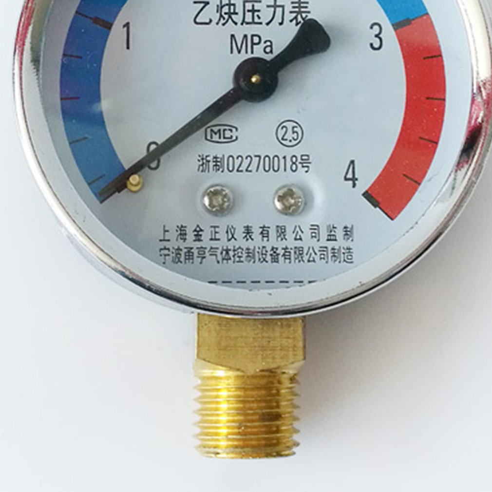 Manometer Azetylen Propan 0-2,5 bar