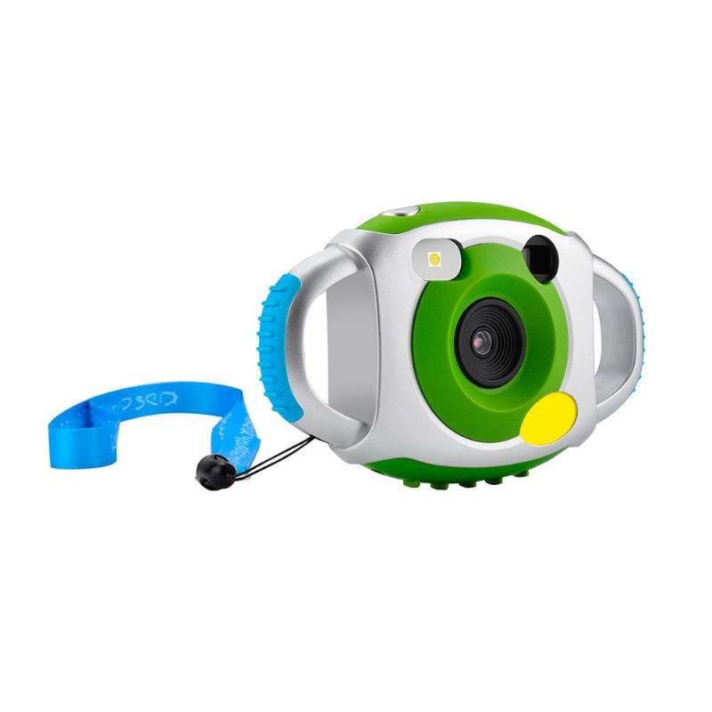 Mini Digital Camera LCD HD 1080P 5MP Cute Cartoon Kids Camera 4X 200m Zoom Automatic Video Recording 32GB SD Card