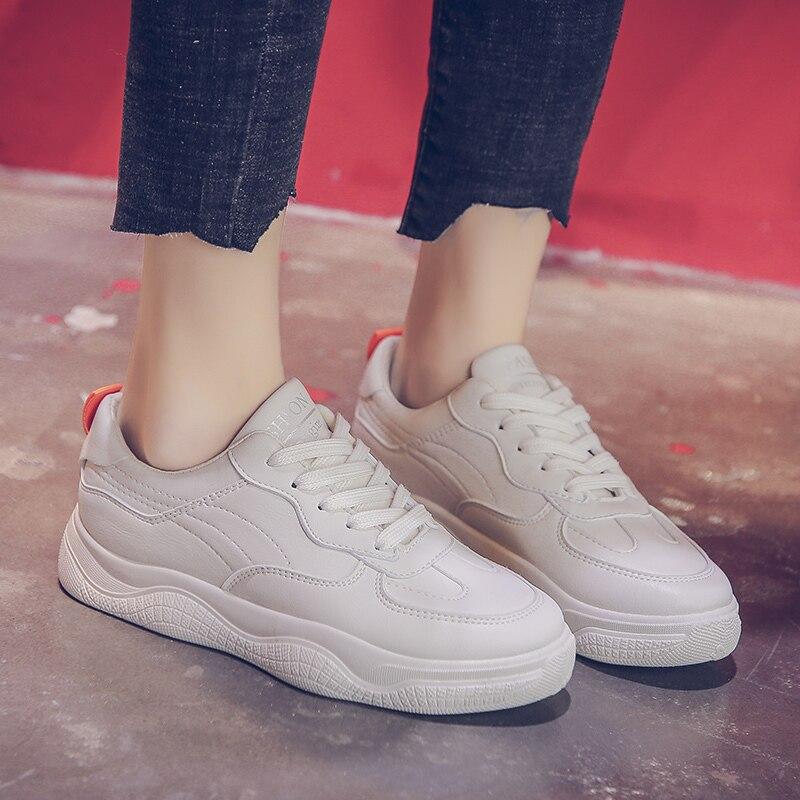 Tamaño Vulcanizados blanco Primavera Deporte Mujer Zapatos Zapatillas De Llegada Blanco Beige Superficial 40 35 Nueva Calzado 2019 Casuales 4qOYHH