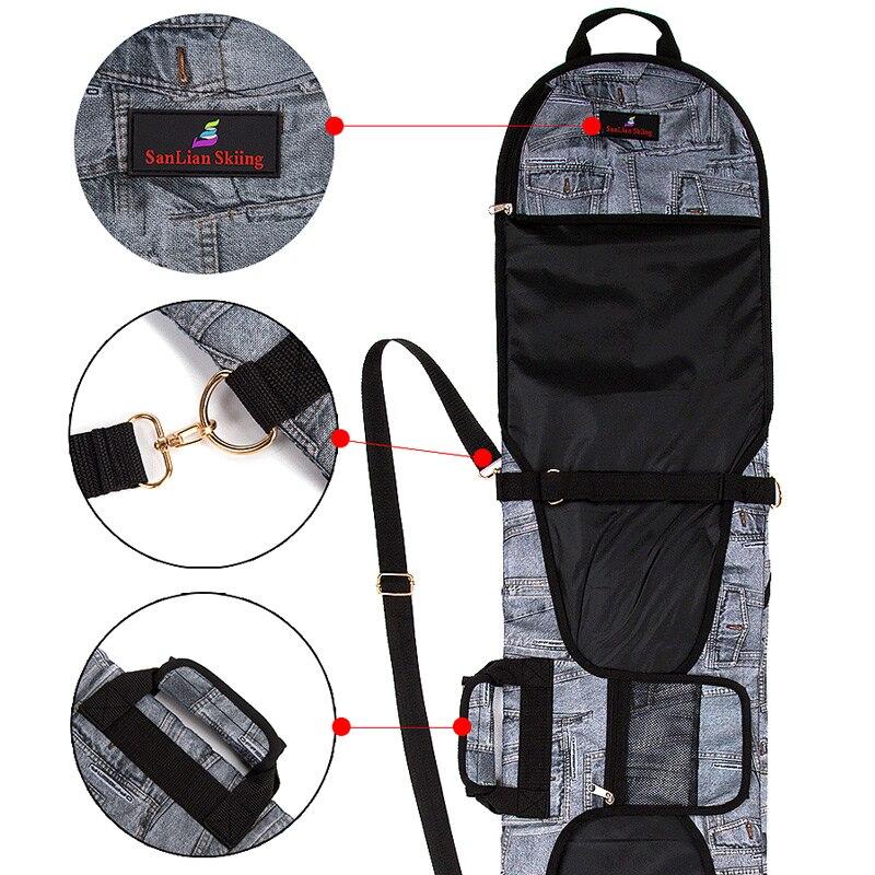 Sacs de Ski mode spéciale sac de Ski sac de Snowboard sac Denim boulettes planche de Ski antidérapant placage couverture - 6