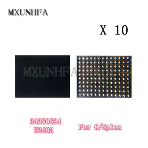 Image 1 - 10pcs U2402 Screen Controller ic Reball for iPhone 6 Plus 6G Black Meson Touch ic 343S0694 chip Control Replacement