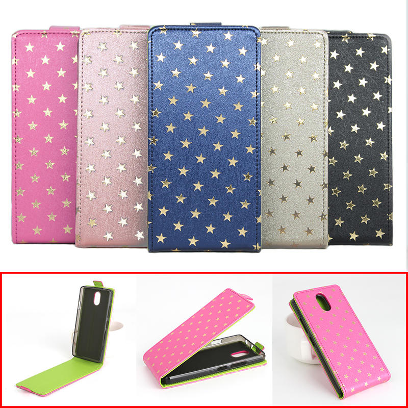 5 Colors Star Patterns Luxury Leather Case For Lenovo Vibe P1M Case Housing For Lenovo Vibe P 1 M Phone Cover Cellphone Cases