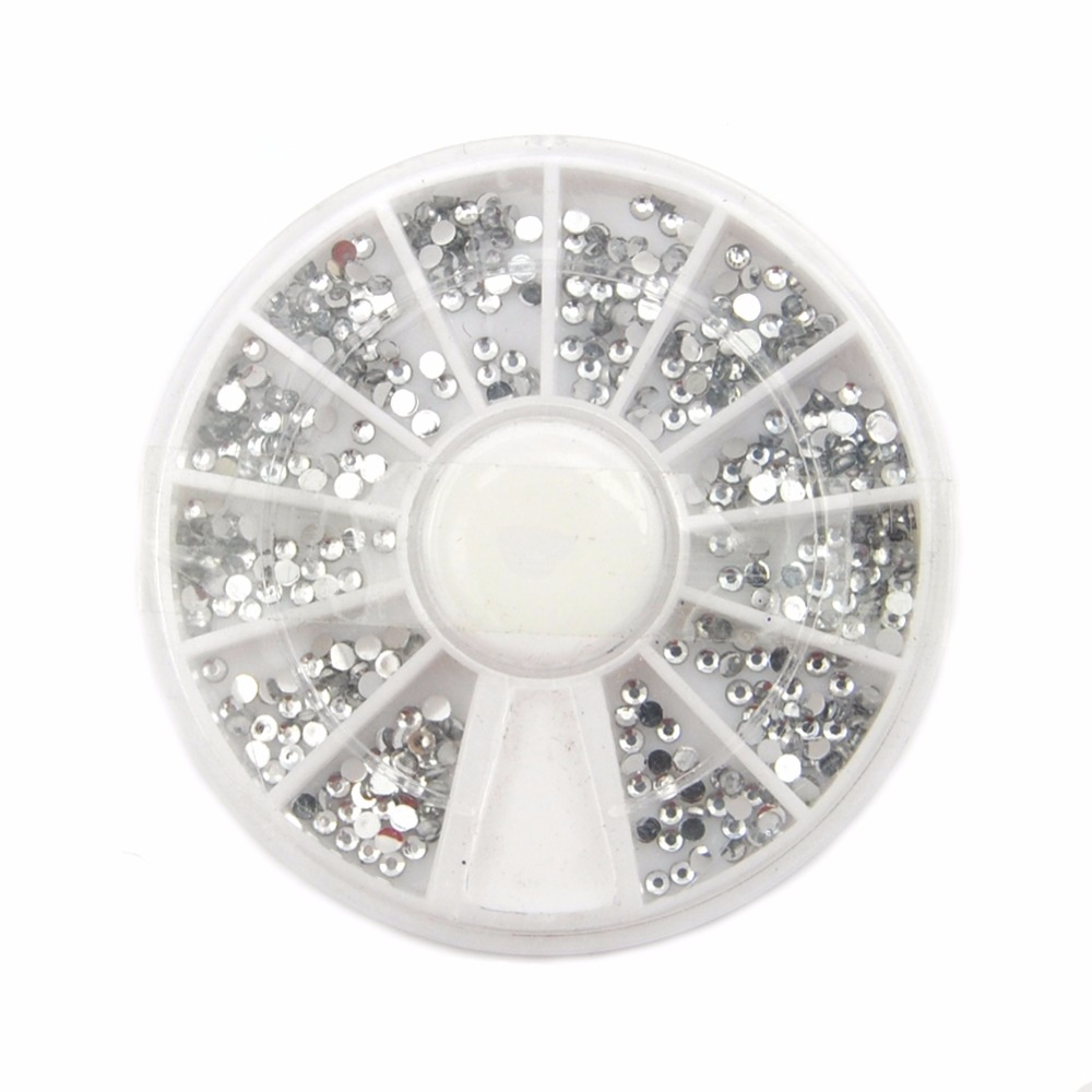3D Nail art Dekorationen Acryl Diamant Form Strass Zu Nägel Kunst ...