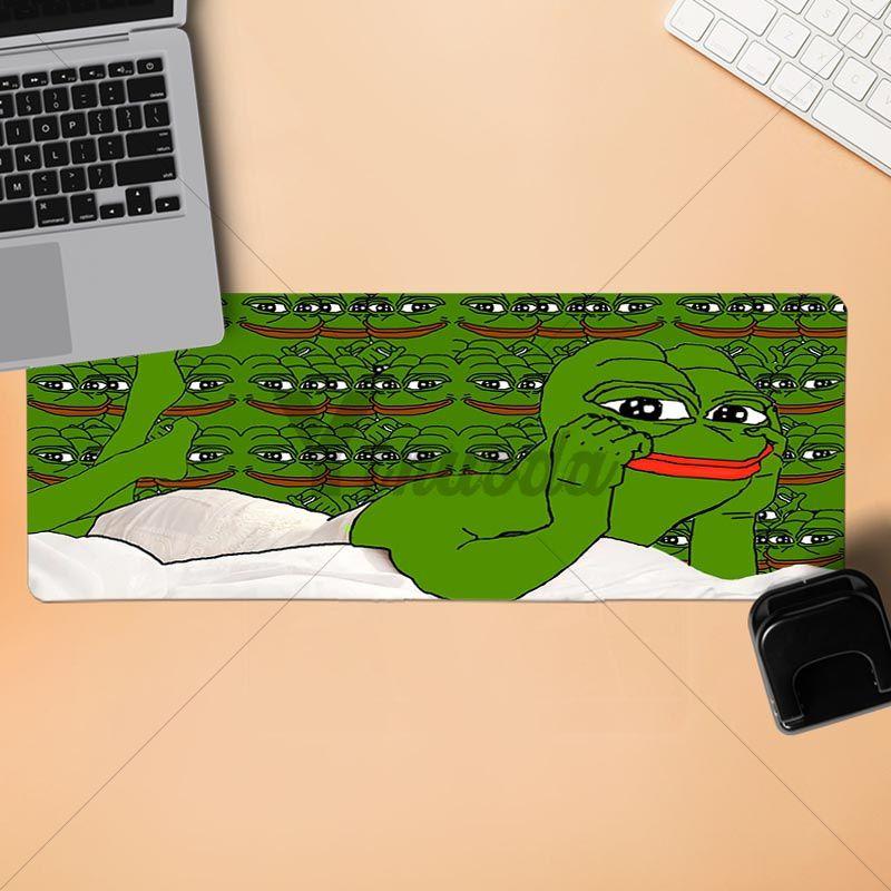 Yinuoda Pepe лягушка геймер Скорость мыши розничной маленький резиновый коврик Размеры для 30x90 см и 40x90 см игровые коврики