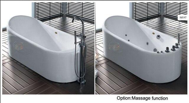 Whirlpool Bad Vrijstaand : Badkamer bad acryl bad hoek witte m ligbad whirlpool spa