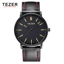 TEZER 2016 Reloj de Cuarzo de Los Hombres Relojes de Primeras Marcas de Lujo Famoso Reloj Hombre Reloj de Pulsera Reloj de Cuarzo reloj Relogio Masculino5025