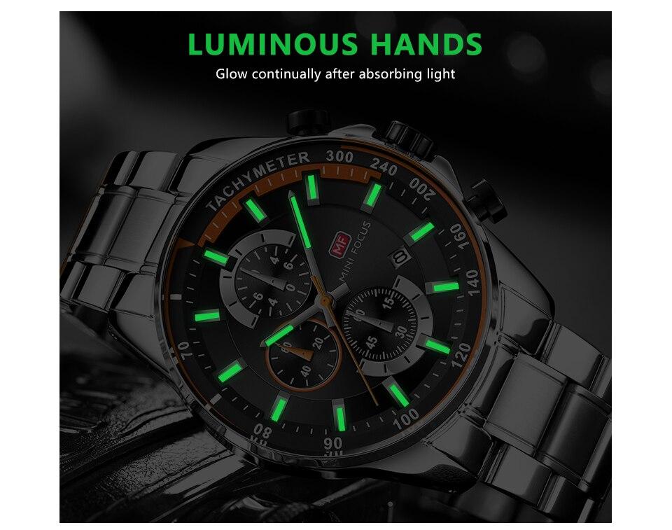 Mini foco 2019 moda azul relógio de
