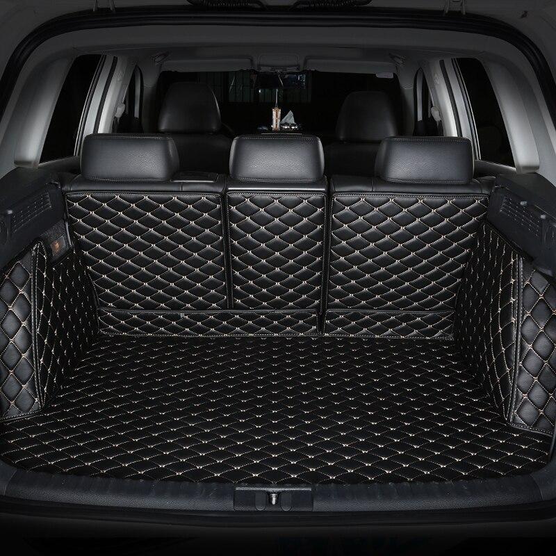 Special Car Trunk Mats For SsangYong Korando Actyon Rexton Chairman Kyron Car Accessorie Auto Styling Cargo Liner Car Carpet
