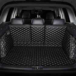 Spezielle auto stamm matten für SsangYong Korando Actyon Rexton Vorsitzender Kyron auto zubehör auto styling Cargo-Liner Auto teppich