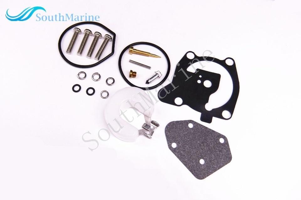 66T-W0093-00 66T-W0093-01 Carburetor Repair Kit for Yamaha 40HP Outboard E40X 2T