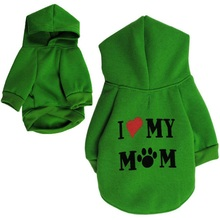 Dog Clothes Puppy Hoodies Coat Jacket Pet Small Dog Apparel Casual Warm Flannel Clothing Cat Outfit Chihuahua 4 Color Hot цены онлайн