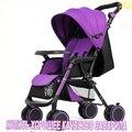 Carritos de bebé como el alto costo de luz portátil plegable cochecito de bebé cochecito cochecito de bebé puede sentarse mentira cuatro push Envío gratis
