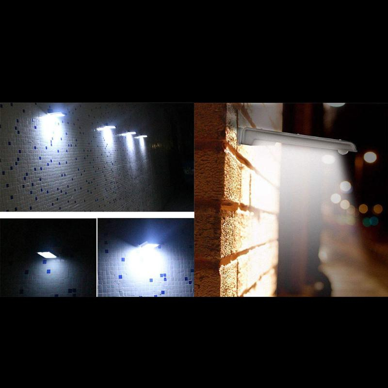 400LM 36 LED Solar Power Street Light PIR Motion Sensor Lamps Garden Security Lamp Outdoor Street Waterproof Wall Lights