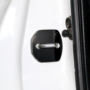 Image 3 - 4 шт./партия, автомобильный Стайлинг из нержавеющей стали для защиты дверей, крышка для дверей, крышка для ST Racing Ford Focus 2 3 Fiesta Kuga
