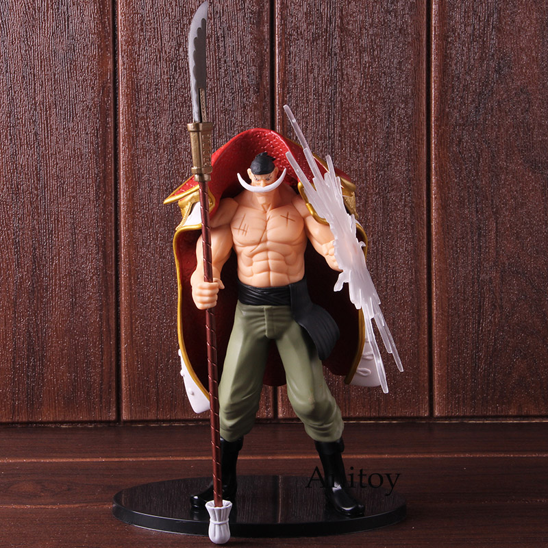 Anime One Piece Edward Newgate DXF The Grandline Men Special PVC One Piece White Beard Figure Action Collectible Model Toy 1