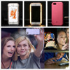 LED Light Selfie Phone Case For IPhone 5 5s 6 6s 6 Plus 7 7 Plus