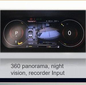 Image 5 - لوحة أجهزة Panlelo لوحة استبدال لوحة القيادة 12.3 بوصة الملاح مع أداة الكريستال السائل الكامل لتويوتا برادو SWC