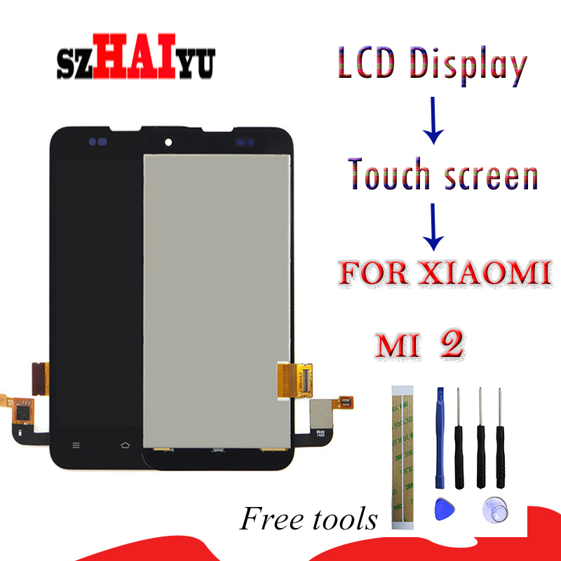 Mobile Phone Parts Szhaiyu Mi2 2s For Xiaomi 2 Mi2 Mi2s Mi 2 2s Lcd Display Touch Screen Digitizer Panel Replacement Parts Assembly With Tools Terrific Value