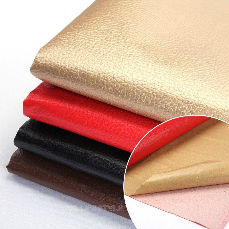 Buulqo En Cuir tissu canapé adhésif peel post de réparation de voiture intérieur patchs en cuir de tissu Doux paquet retour colle en cuir