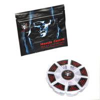 Demon Killer Electronic Cigarette Accessories 8 In 1 Coils And Organic Muscle Cotton For RDA