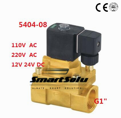 5404-08 G1 High Pressure 4MPA 2Way 150c Degree High Temperature Brass Solenoid Valve PTFE Seal 1 2bspt 2position 2way nc hi temp brass steam solenoid valve ptfe pilot