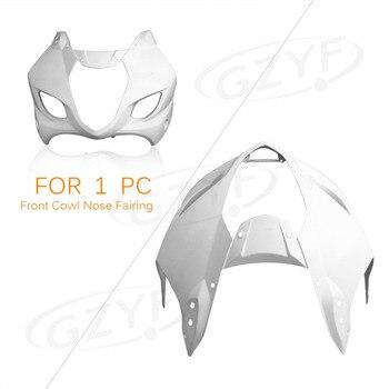 Unpainted Upper Front Fairing Cowl Nose for Suzuki 2003 2004 GSXR1000 GSXR 1000 K3, ABS Plastic