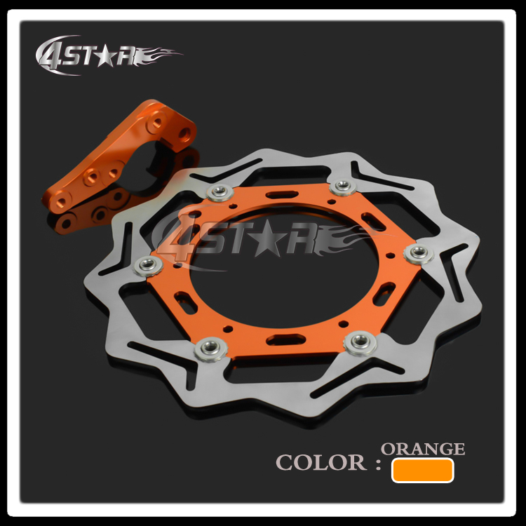 270MM Flaoting Brake Disc+Bracket Front For KTM EXC EXCF EXCG EXCR GS LC4 SC MX MXC SX SXF SXS XCF XCW XCG XC Supermoto Enduro cnc stunt clutch lever easy pull cable system for ktm exc excf xc xcf xcw xcfw mx egs sx sxf sxs smr 50 65 85 125 150 200 250