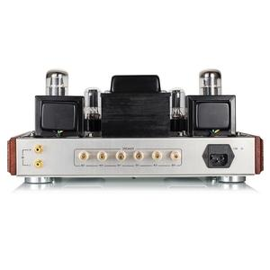 Image 4 - 2020 Latest Nobsound EL34 Valve Tube Amplifier Stereo Hi Fi Single ended Class A Power Amp High end Brushed Metal Panel Amp