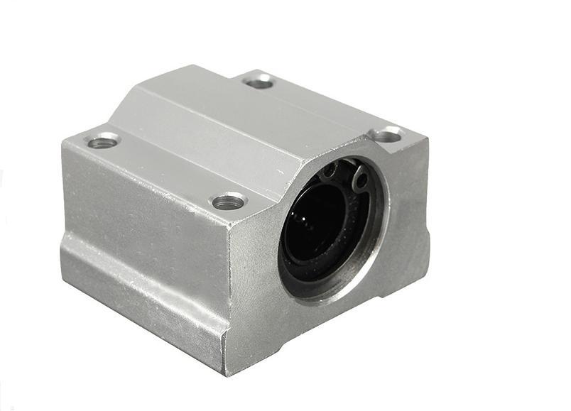 8pcs/Lot SC16UU SCS16UU 16mm Linear Motion Ball Bearing Slide Bushing For CNC 8pcs lot sc8v scv8uu 8mm linear bearing bushing lm8uu linear ball bearing for 8 mm linear shaft