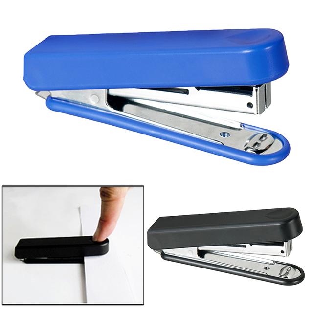 Metal Mini Safe Stapler without Staples Staple Free Stapleless Capacity for Paper Binding