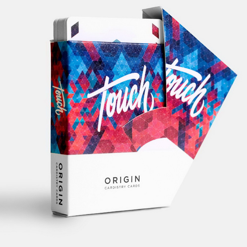 1 Deck Origin Cardistry Touch Playing Cards CARDISTRY Fans Favorite Deck Magic Tricks