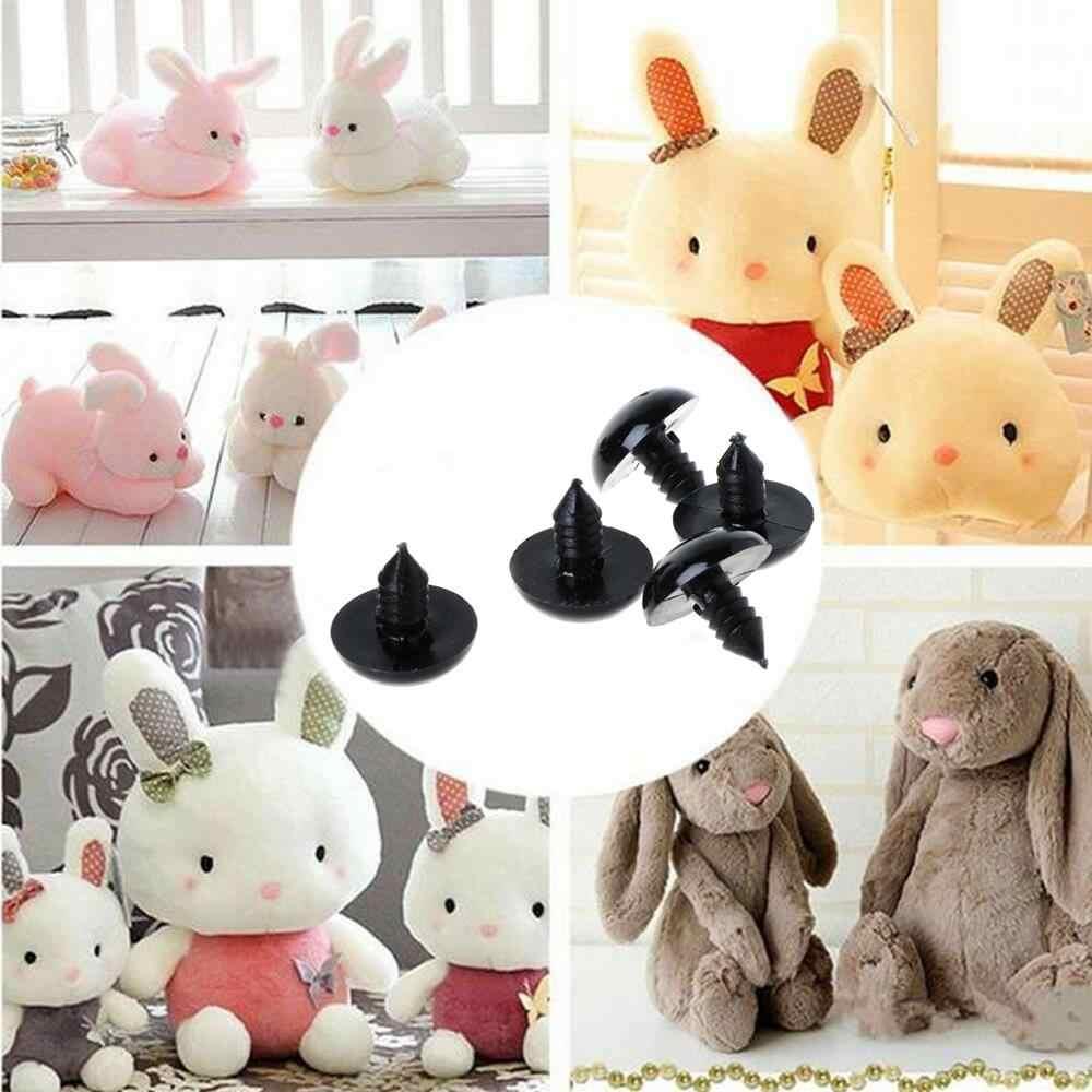 20 шт черные безопасные пластиковые глаза для плюшевый медведь, куклы игрушки для животных валяния