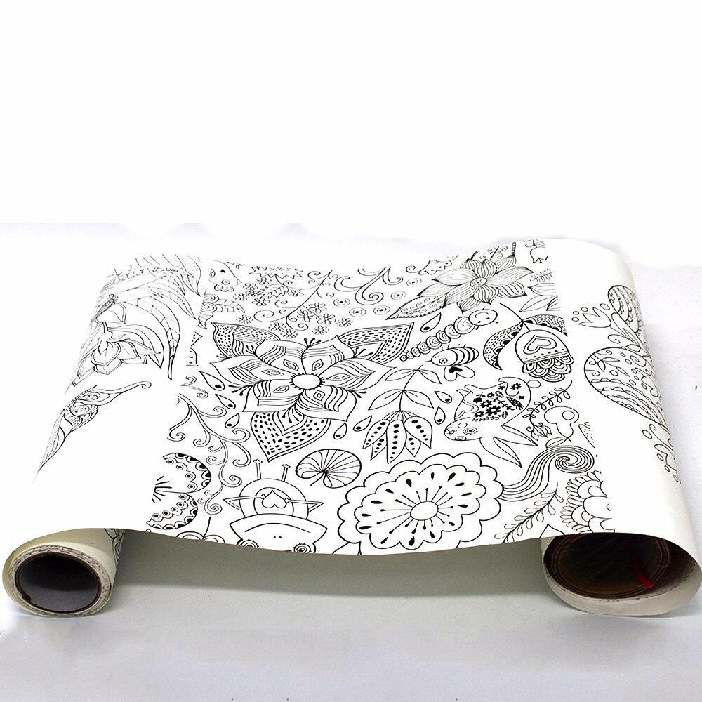 1 st Scroll Doodle Kids Creativiteit schoolbenodigdheden tekening - School en educatieve benodigdheden