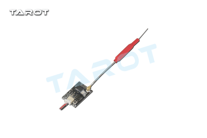 Tarot X9D-SBUS 8 Channel Receiver RX Frsky X9D Plus Remotre Controller D8 Model XJT D8 with Flight Controller Wire for FPV Drone new 2 4g 8ch receiver ppm sbus output for frsky x9d plus xjt djt dft dht for rc multicopter fpv racing camera drone spare parts