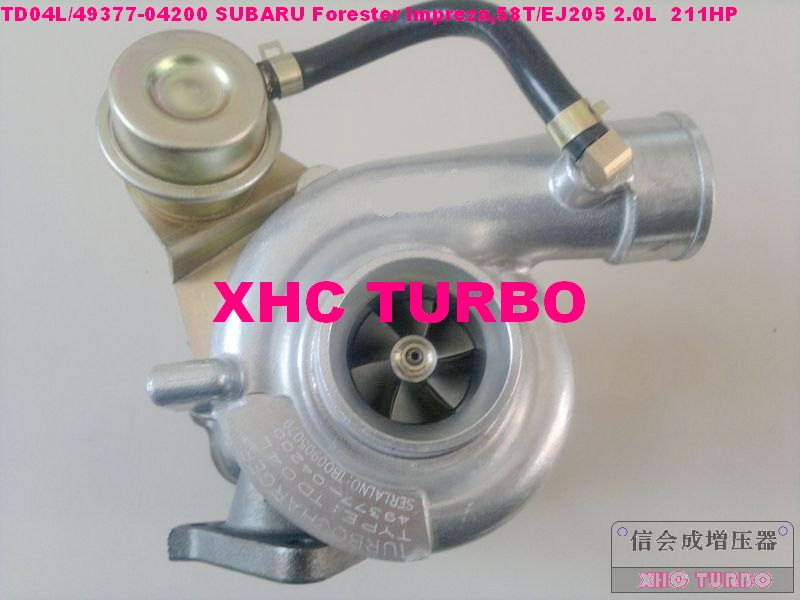 NEW TD04L 49377 04200 14412AA231 Turbo Turbocharger for Forester Impreza,58T/EJ20 2.0L 211HP