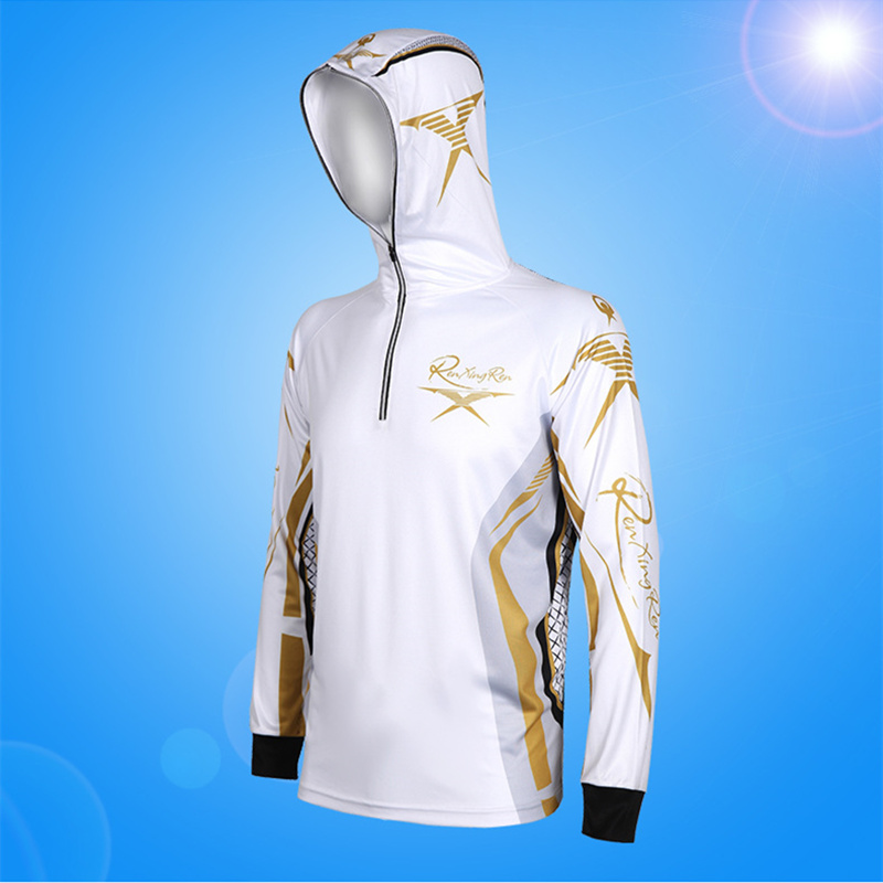 Customized Outdoor Fishing Clothings UV Protection Quick Dry Angelsport Shirt Jacket Men Breathable Fishing Clothings