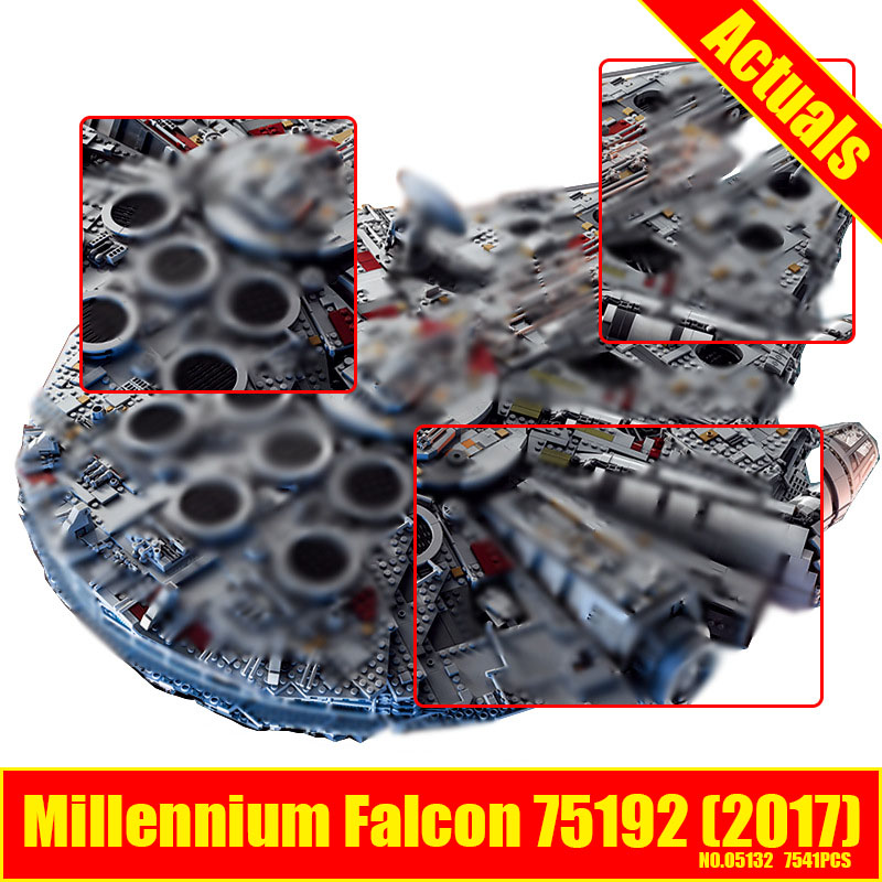 Lepin 05132 Star Series Wars Ultimate Collector's Model 7541PCS Destroyer Building Blocks DIY Bricks Children Toy gift 75192 mr froger jie star star wars ultimate fighter minifigures building blocks diamond block cute model toys brinquedos diy toy