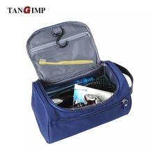 TANGIMP 2017 New Waterproof Men Hanging Cosmetic Bags Makeup Nylon Travel Organizer Zipper Wash Toiletry Case