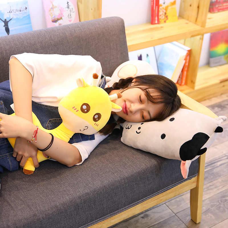 Stupendous Hedgehog Giraffe Monster Bear Cow Stuffed Plushie Pillow Theyellowbook Wood Chair Design Ideas Theyellowbookinfo