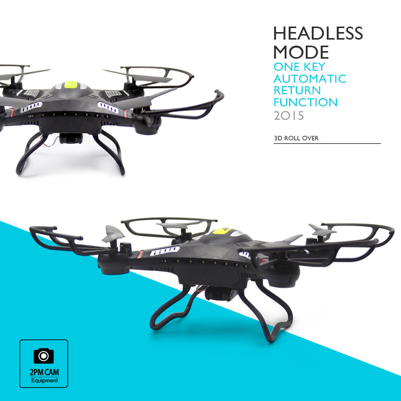 JJRC H8C RC Quadcopter Drone with 5 0MP Camera 2 4G 6 Axis RTF Remote control