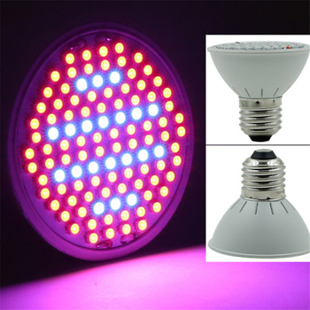 E27 6W led grow light plant 106 LEDs houseplants flowers awning fill bulb greenhouse seedlings tent phyto-lamps lamp for plants