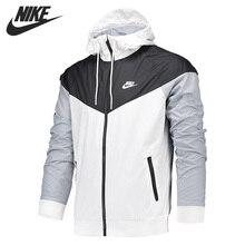 Оригинальное новое поступление, мужская спортивная куртка с капюшоном от NIKE AS M NSW WR JKT