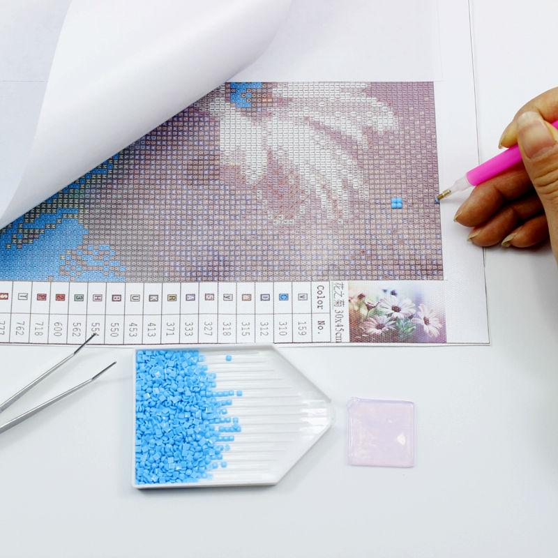 Diamante Bricolaje Pintura Animal Punto de Cruz Cristal Cuadrado - Artes, artesanía y costura - foto 5