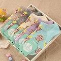 De alta Calidad de Algodón Calcetines de Mujer Encantadora Mono y Plátano de Dibujos Animados Mujeres Calcetines Cómodo y transpirable 5 Colores Para Elegir
