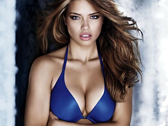Adriana Lima Hot Boobs Sexy Bra Model Art Huge Print Poster Txhome D7294