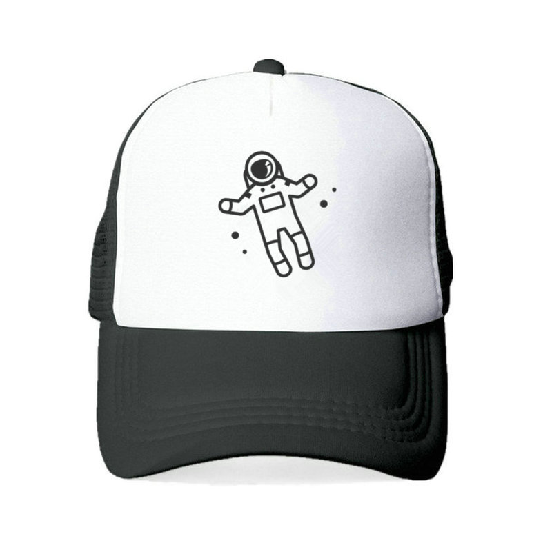 Casual Astronauts Snapback Hats Unisex Skull Spaceman Dad Hat Adjustable Spaceman Moon Landing Baseball Cap Hat YY431