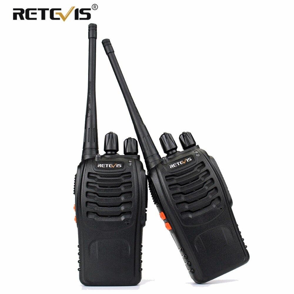 2 pz Retevis H777 A Portata di mano Walkie Talkie Ricetrasmettitore Portatile UHF 400-470 mhz di Frequenza Portatile Radio A due Vie stazione di Communicator