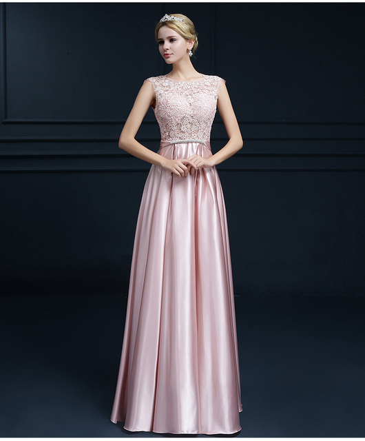 New Long Evening Dresses Engagement Party Gown Christmas Gift 2016 Gowns Female Clothing Custom